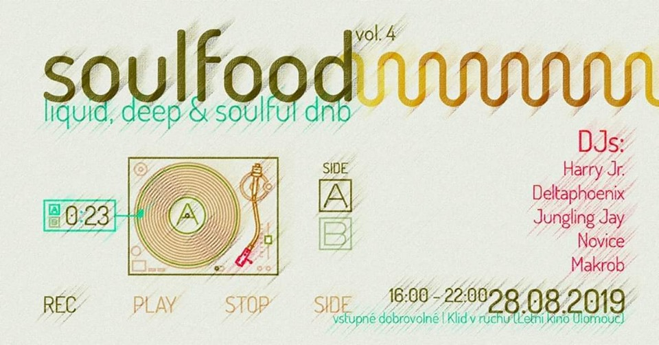 Soulfood vol. 4 Day Party w/ Harry Jr, Deltaphoenix, Novice