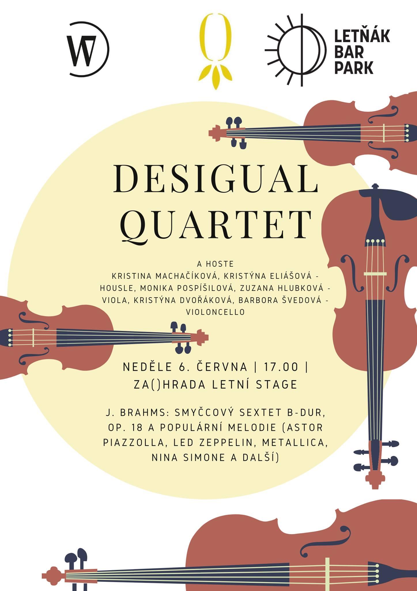 Desigual Quartet v Za()hradě
