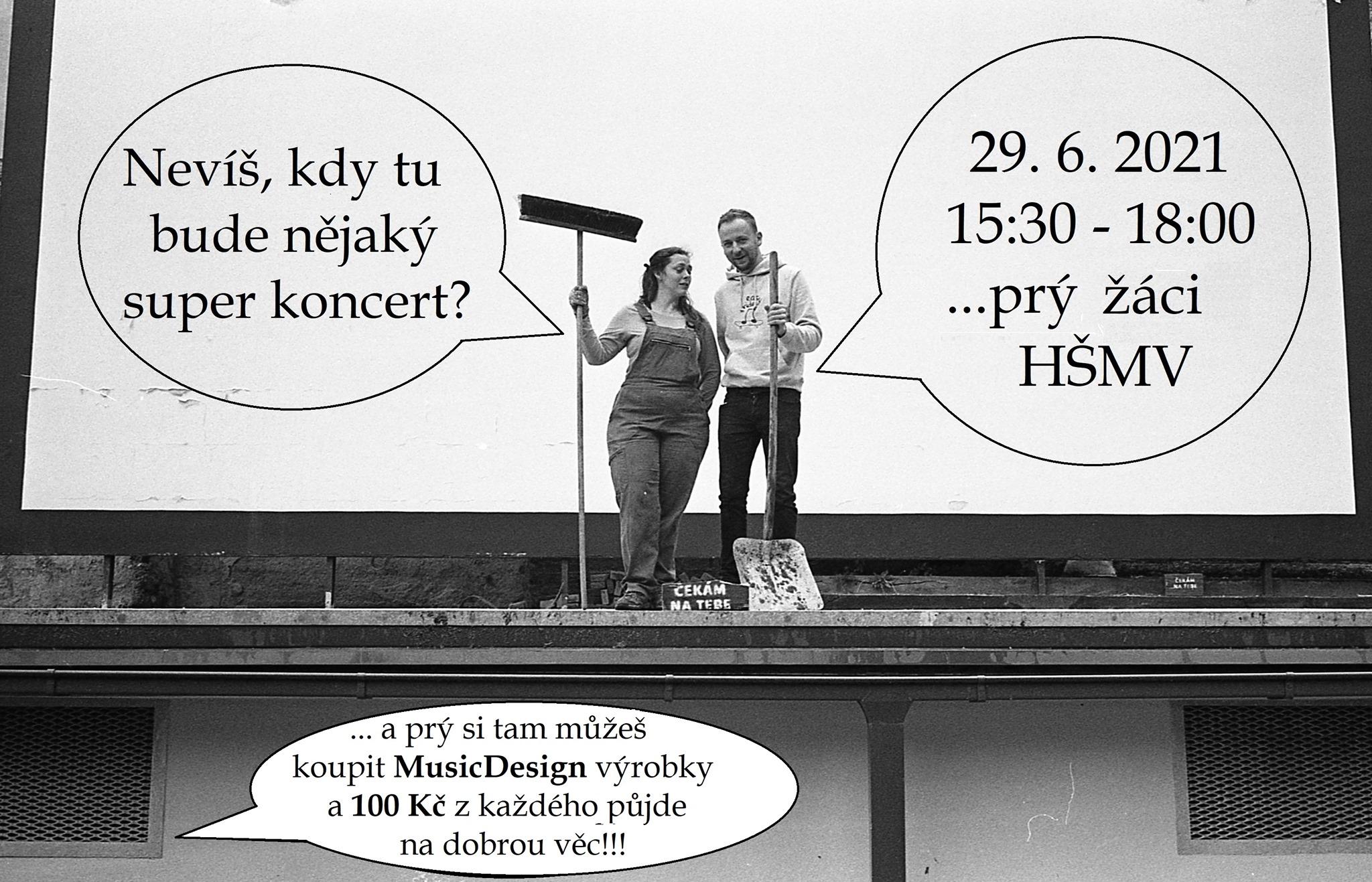 Koncert HŠMV na Letňáku
